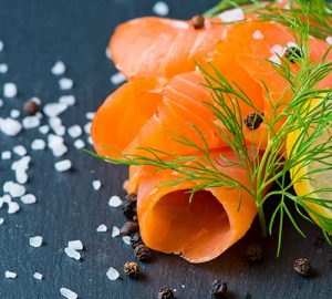 salmon and dill