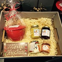 hamper of Long Dock products